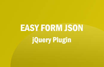 Easy Form JSON - jQuery Plugin