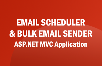 .Net Email Scheduler and Bulk Email Sender